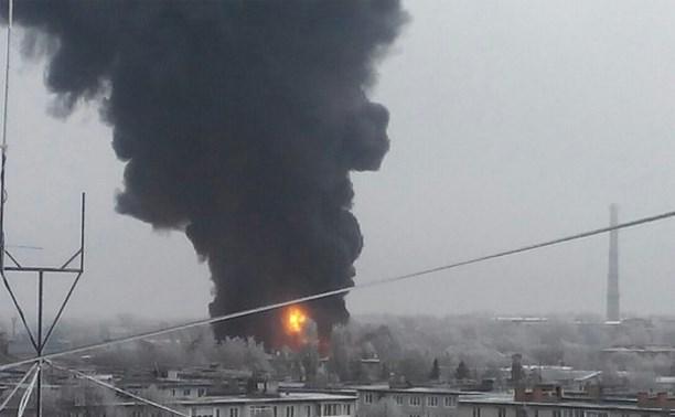 В Узловой загорелся склад хладокомбината