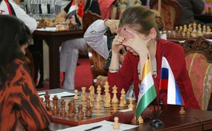 Тульские шахматистки блестяще стартовали на чемпионате мира