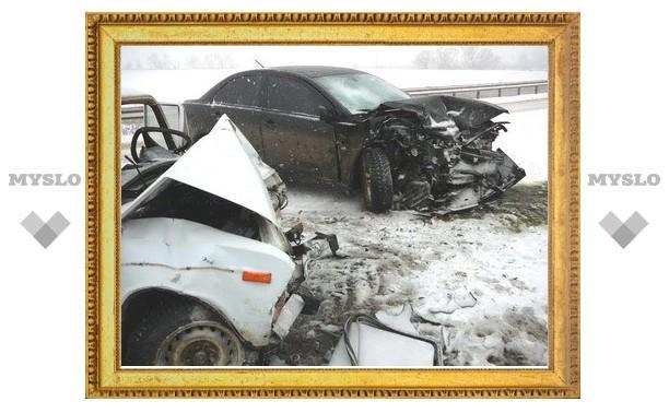 В Тульской области иномарка въехала в «шестерку»: погиб пенсионер
