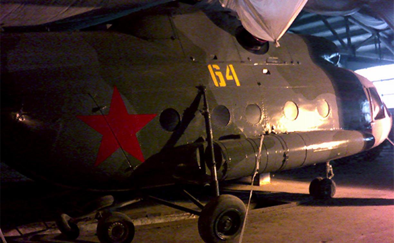 Тульские заключенные отреставрировали списанный вертолет МИ-8