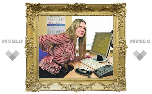 Остеохондроз: болезнь офисных работников