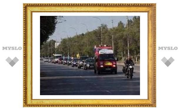 Участники автопробега прибудут в Тулу