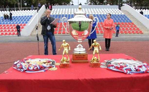 «Машиностроитель» выиграл Кубок Тулы по футболу