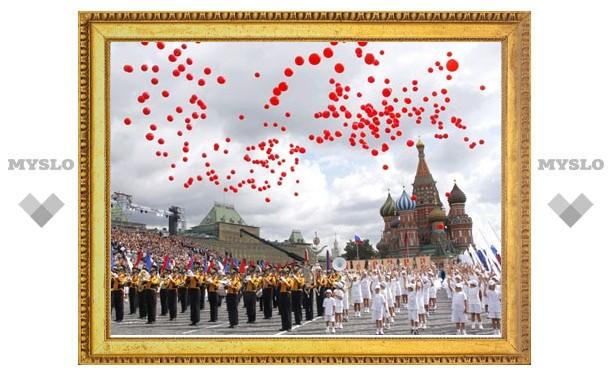 Губернатор Тульской области поздравил мэра Москвы с Днем города
