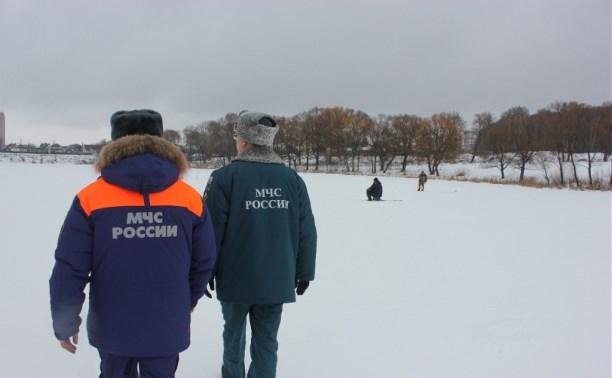 Лед на водоемах Тульской области стал опасным