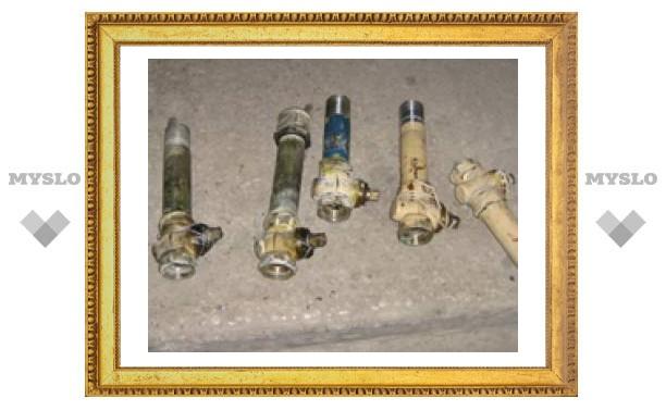 Неизвестные срезали газовые краны