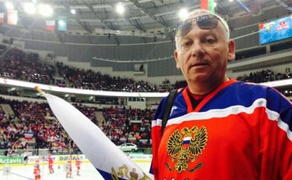 Мэр Тулы поболел за сборную России по хоккею