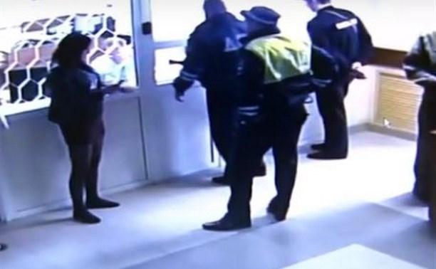 Тулячка, устроившая пьяный дебош на рейде ГИБДД, пойдет под суд