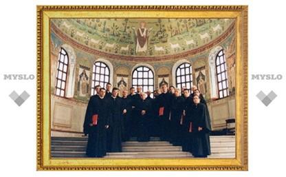 Греческий византийский хор исполнит в Петербурге старинные песнопения Крестопоклонной недели