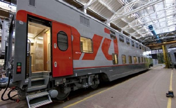 Через Тулу будут ходить двухэтажные поезда