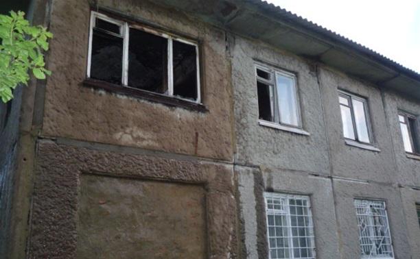 При пожаре в Чернском районе погиб человек