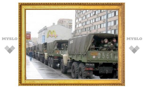 МВД объяснило присутствие в Москве солдат внутренних войск