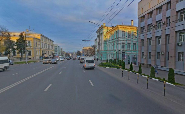 В Туле на проспекте Ленина около прокуратуры запретили левый поворот и разворот