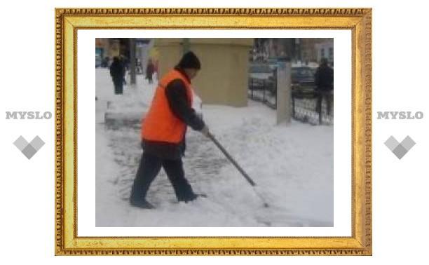 Тулу «накрыло» снегом