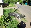 В Тульской области в ДТП с мотоциклом пострадали два человека