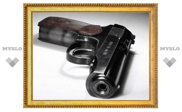 В Туле задержан хулиган с газовым пистолетом