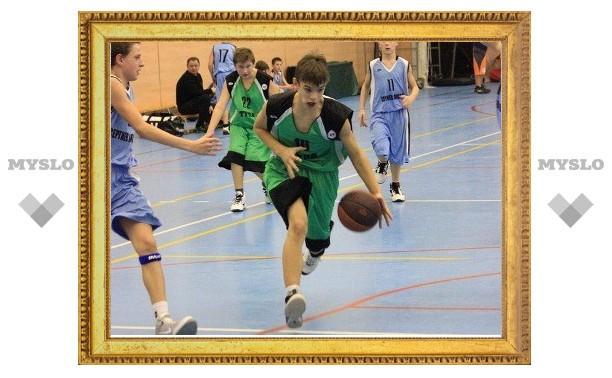 Юные тульские баскетболисты уступили сверстникам из Старого Оскола