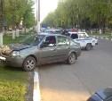 В Новомосковске водитель «Рено» сбил женщину на тротуаре