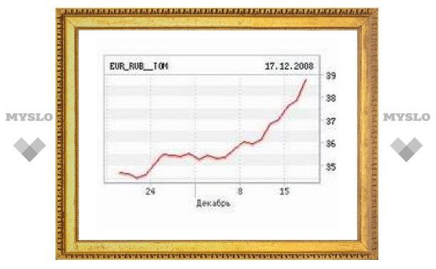 Центробанк провел седьмой этап девальвации рубля