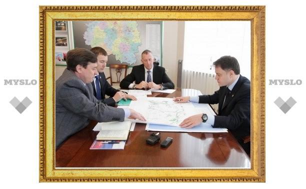 В Узловском районе построят государственный технопарк