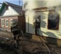 В Зареченском районе Тулы загорелся жилой дом