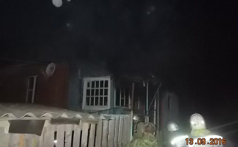 В Липках ночью сгорели две квартиры