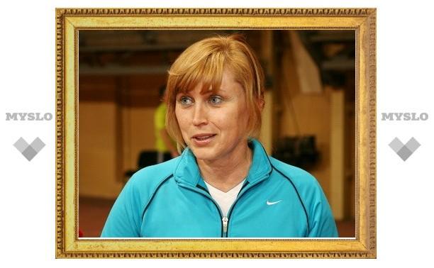 Родную Тулу посетила прославленная легкоатлетка Ольга Назарова