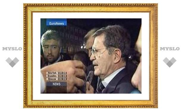 Правящая коалиция Италии приняла план Романо Проди