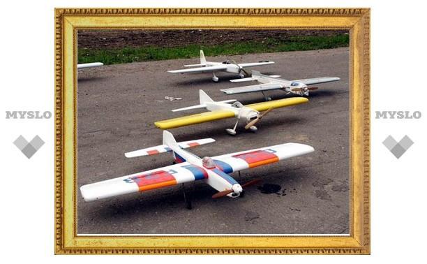 Алексинские авиамоделисты победили в воздушном бою