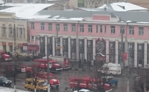 Из здания универмага в центре Тулы эвакуировали людей