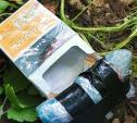 Тульские «закладчики» прятали наркотики в сигаретных пачках и выбрасывали в траву