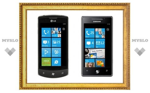 Samsung и LG представили первые смартфоны на Windows Phone 7