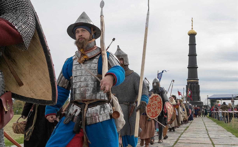 В Тульской области отметили годовщину Куликовской битвы: фоторепортаж