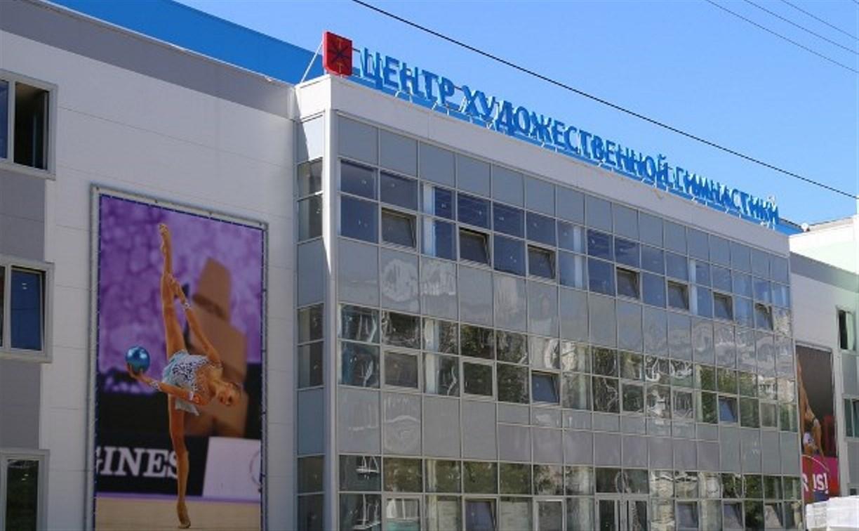 Центр художественной гимнастики в Туле готовится к сдаче