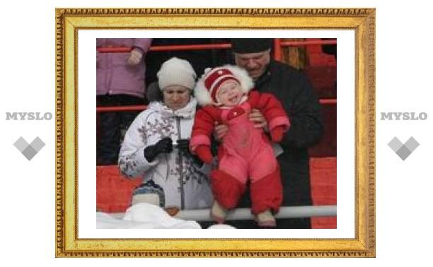 Туляки проводили Зиму в Прилепах