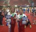 Щёкинские спортсменки привезли медали с первенства мира по кикбоксингу