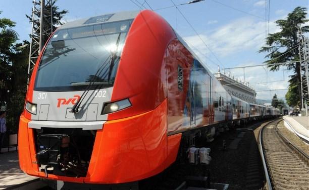 Электропоезд «Ласточка» с ноября вновь будет заезжать в Тульскую область