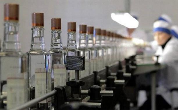 В России упали продажи водки