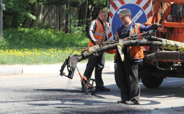 Дороги в области отремонтируют к 1 сентября