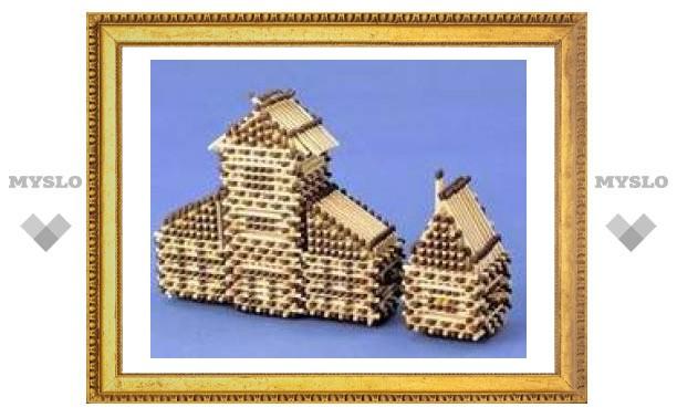 В Туле появились храмы из спичек