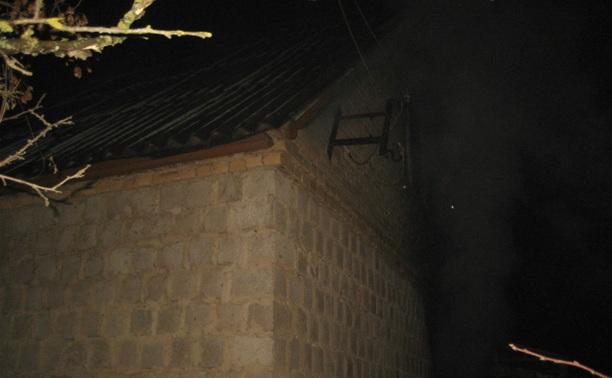 Ночью на Косой Горе загорелся жилой частный дом