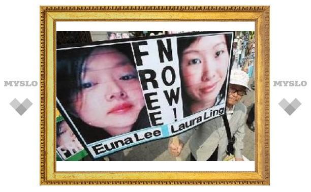 Билл Клинтон убедил Ким Чен Ира помиловать американских журналисток