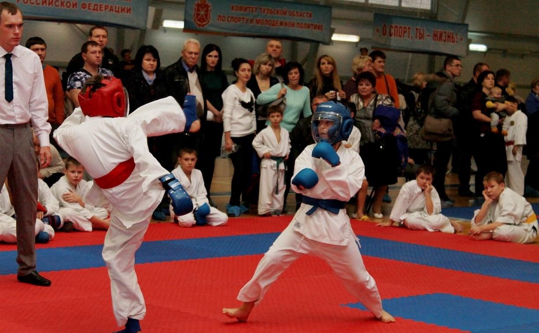 В Туле прошел открытый турнир по каратэ