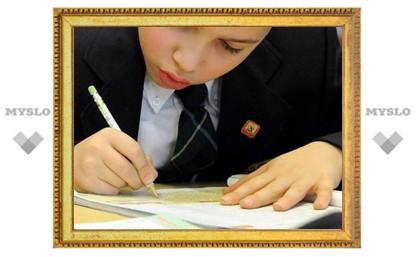 Школьники Тулы научатся писать письма