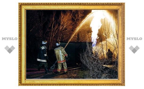 Под Тулой ищут поджигателей дач