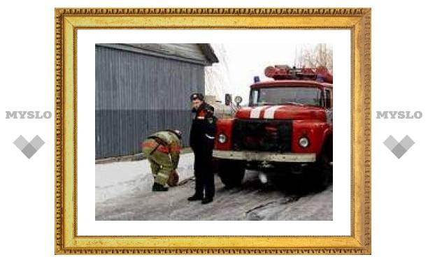 В Ростовской области горит общежитие
