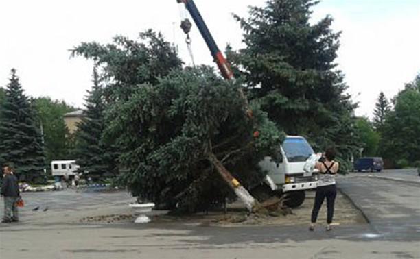 Ураган в Плавске: фото и видео очевидцев