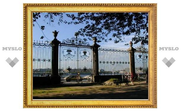 Ограда Летнего сада в Санкт-Петербурге была сделана в Туле