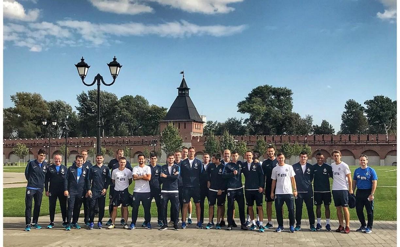 Футболисты «Динамо» перед матчем с «Арсеналом» прогулялись по Тульскому кремлю