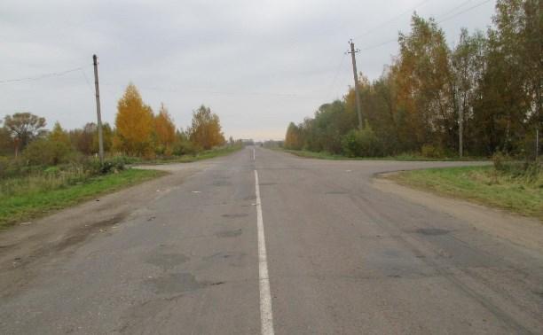 В ДТП в Богородицком районе погиб водитель мопеда